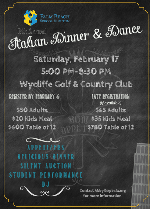 8th Annual Italian Dinner & Dance